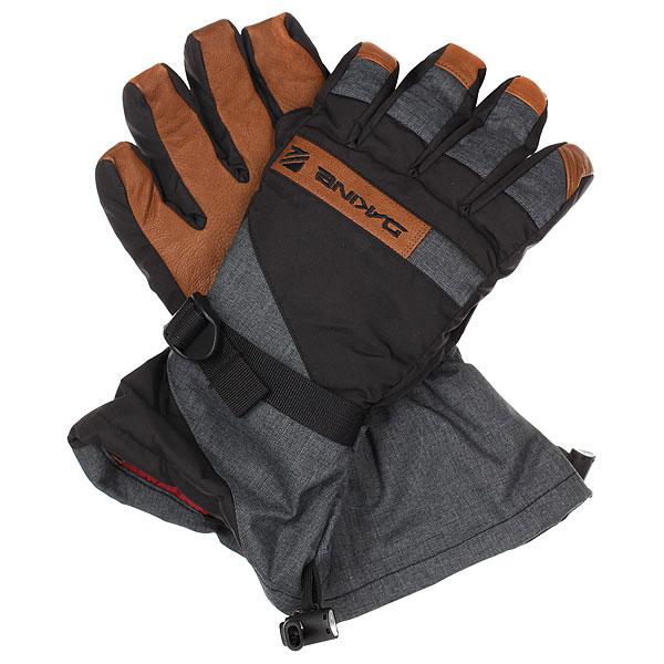 Перчатки сноубордические Dakine Nova Glove Carbon 1190195  - купить со скидкой