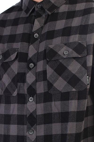 Рубашка в клетку Billabong All Day Flannel Ls Black