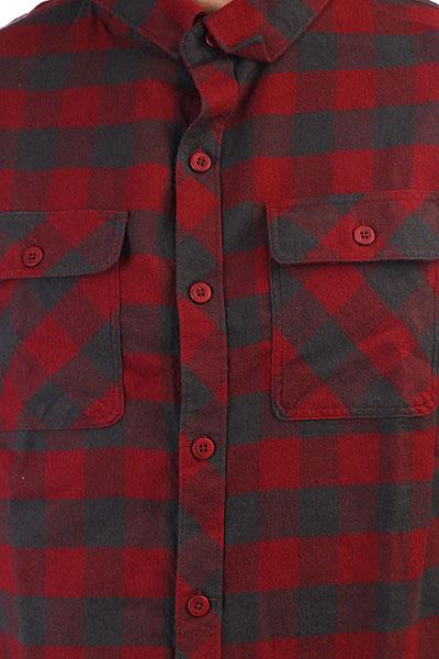 Рубашка в клетку Billabong All Day Flannel Ls Blood