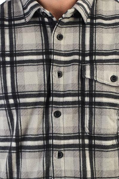 Рубашка в клетку Billabong Furnace Flannel Ls Light Grey