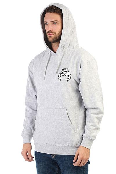 Толстовка кенгуру Crabgrab Worlds Best Hoody Athletic Grey