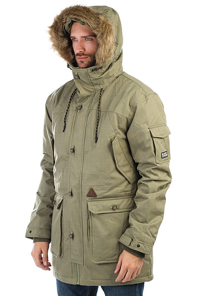 Куртка парка Billabong Klamath 10k Parka Olive