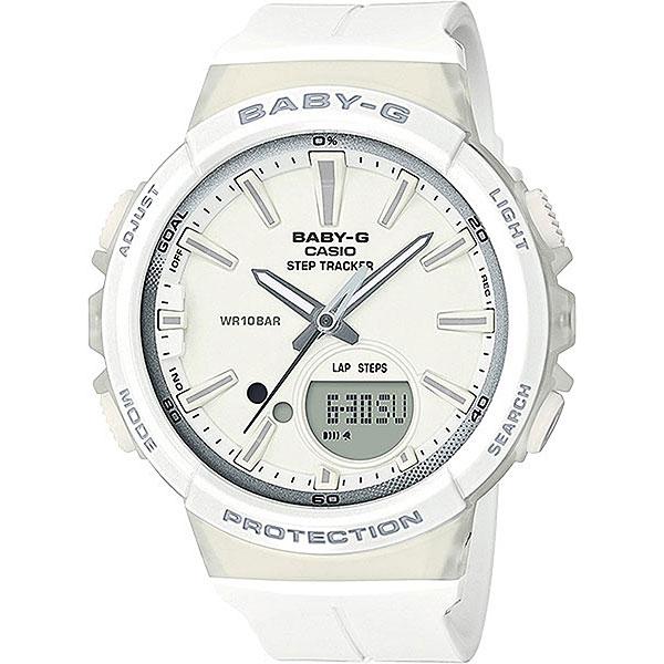 Кварцевые часы женские Casio G-Shock Baby-g Bgs-100-7a1 White