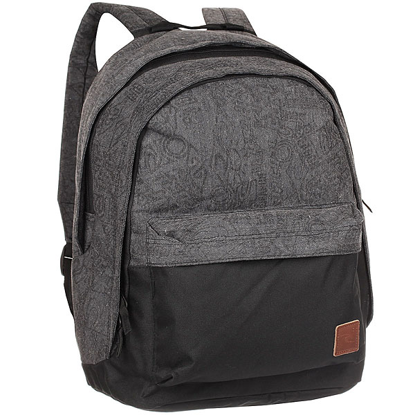 Рюкзак городской Rip Curl Heritage Logo Double Dome Grey