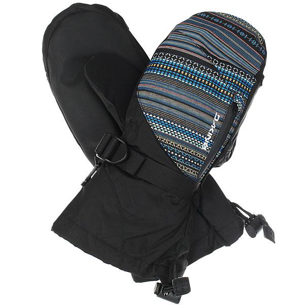 Варежки женские Dakine Sequoia Mitt Cortez Black