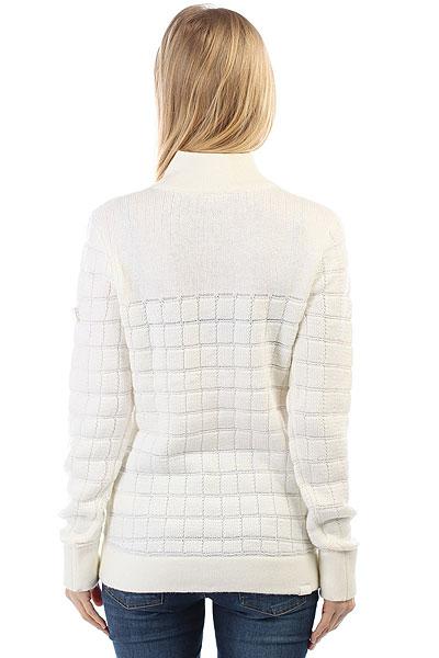 Толстовка классическая женская Roxy Premiere Layer Bright White