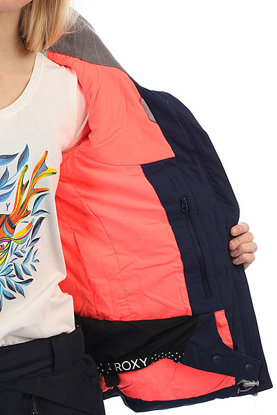 Куртка утепленная женская Roxy Flicker Peacoat