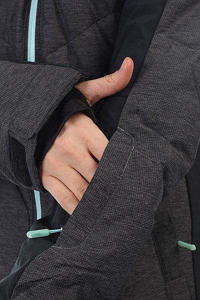 Куртка утепленная женская Roxy Snowstorm True Black