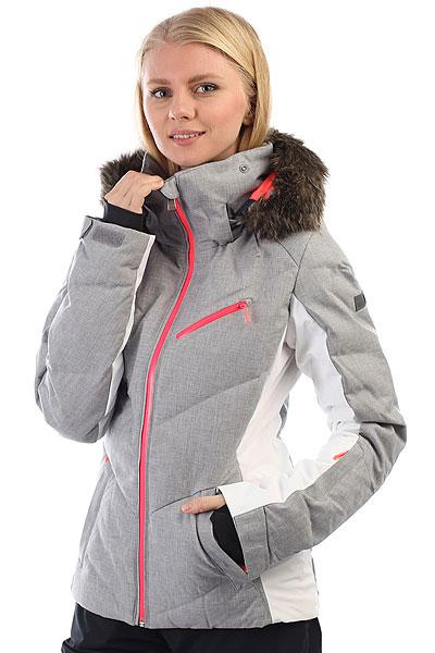 Купить Куртка утепленная женская Roxy Snowstorm Heritage Heather 1190954