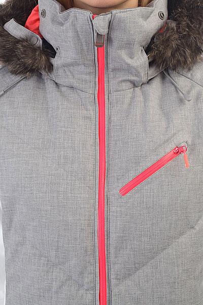 Куртка утепленная женская Roxy Snowstorm Heritage Heather