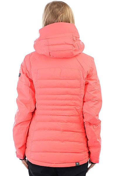 Куртка утепленная женская Roxy Tracer Neon Grapefruit