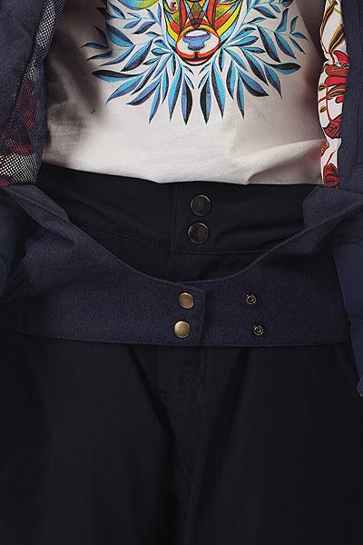 Куртка утепленная женская женская Roxy Stormfall Peacoat