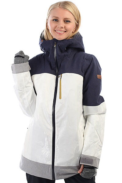 Куртка утепленная женская Roxy Stormfall Egret