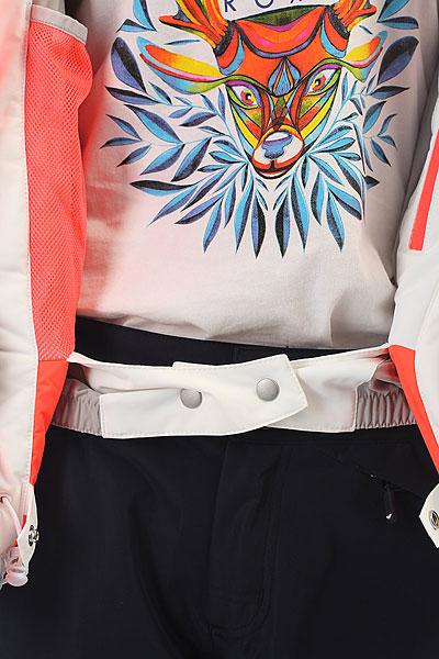 Куртка утепленная женская Roxy Premiere Bright White