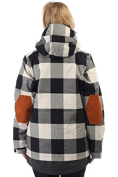 Куртка утепленная женская DC Riji Se Buffalo Plaid