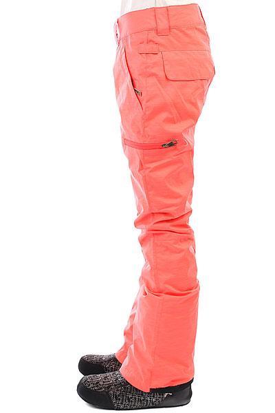 Штаны сноубордические женские DC Recruit Fiery Coral