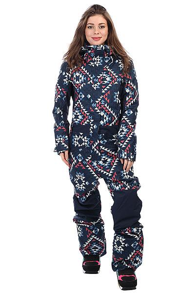 Купить Комбинезон сноубордический женский Billabong Thyra Navajo Blue 1191206