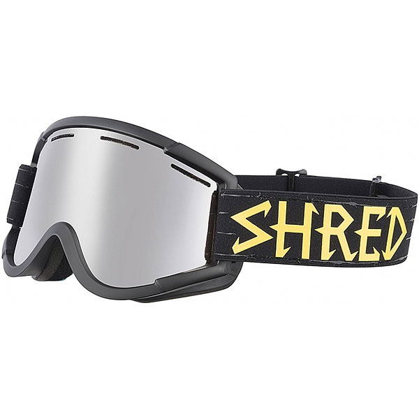 Маска для сноуборда Shred Nastify Walnuts Platinum Black