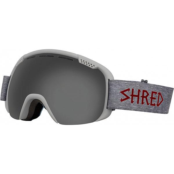 Маска для сноуборда Shred Smartefy Heather Stealth Grey