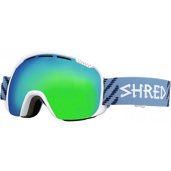 Маска для сноуборда Shred Smartefy White