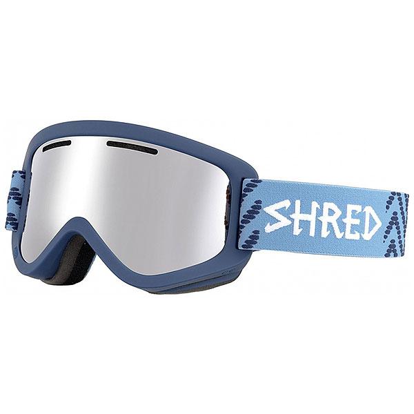 Маска для сноуборда Shred Wonderfy Navy Blue
