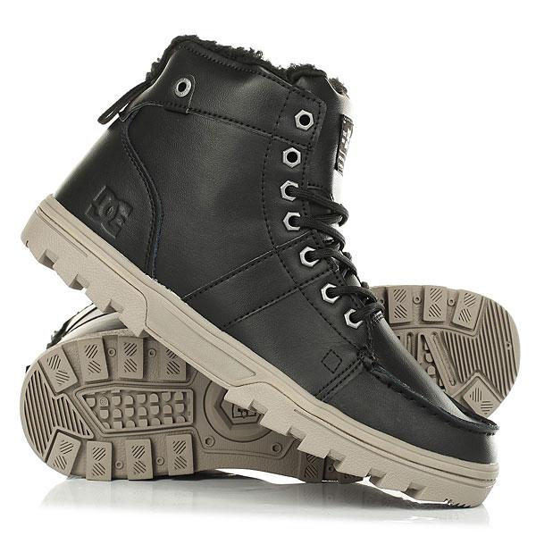 Ботинки зимние DC Woodland Black/Tan