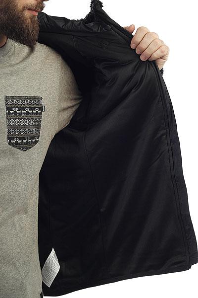 Толстовка классическая Nike Everett FZ Sherpa Hoodie Black