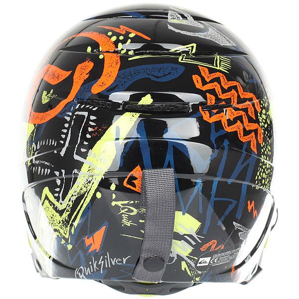 Шлем для сноуборда детский Quiksilver The Game Black Thunderbolt