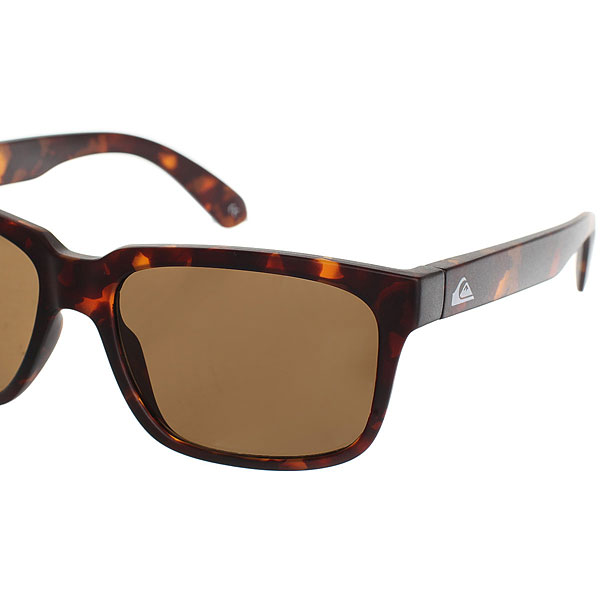 Очки Quiksilver Player Matte Tortoise Brown