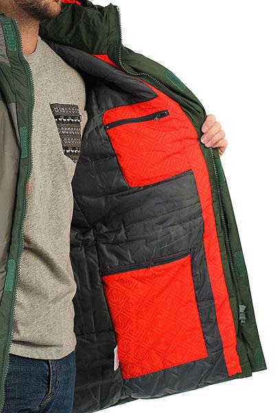 Куртка парка Запорожец Telogreika Olive/Gray