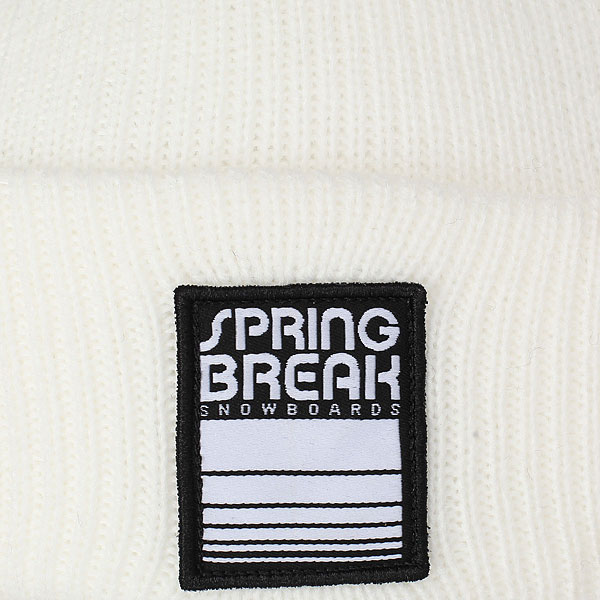 Шапка Capita Spring Break Beanie White
