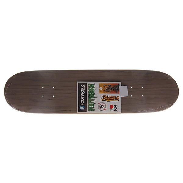 Дека для скейтборда Footwork Original Lucky Grey 32.1 x 8.375 (21.3 см)