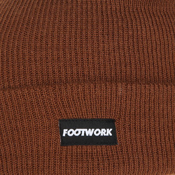 Шапка Footwork F16 Lucky Friar Brown