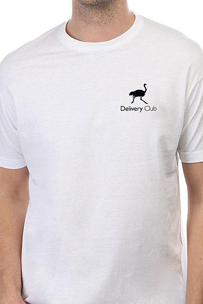 Футболка Классическая Deliveryclub Logo Белая S