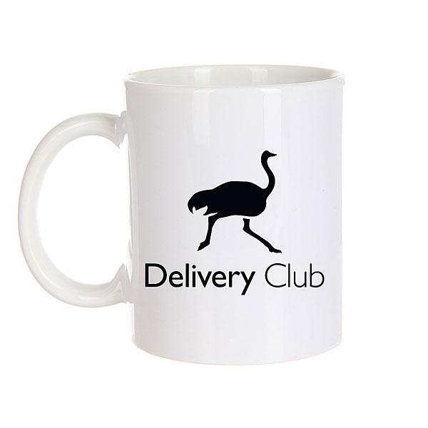 Кружка Deliveryclub Logo Белая Os