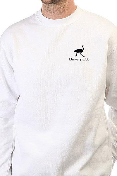 Свитшот Deliveryclub Logo Белый S