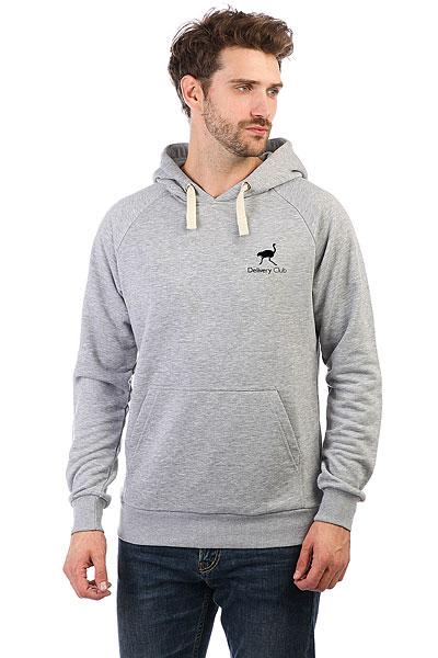 Толстовка Wearcraft Premium Deliveryclub Logo Серый Меланж S