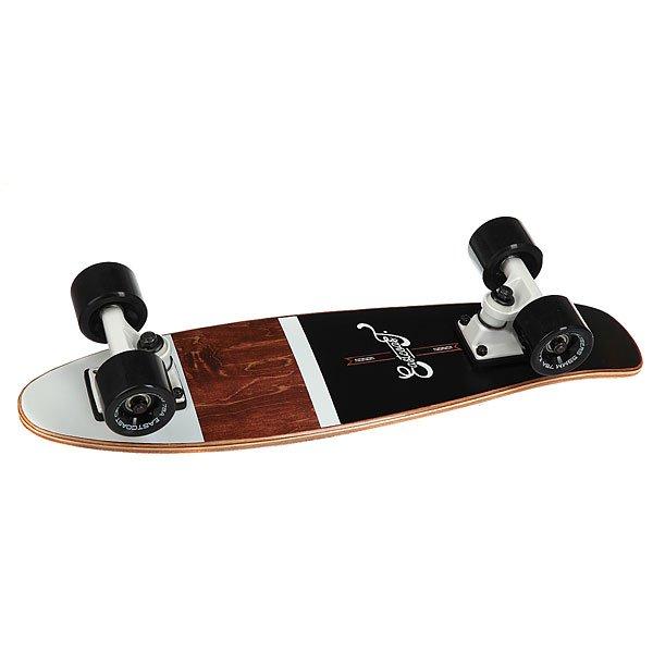 Скейт мини круизер Eastcoast Shelby Black 6.25 x 23 (58.4 см)