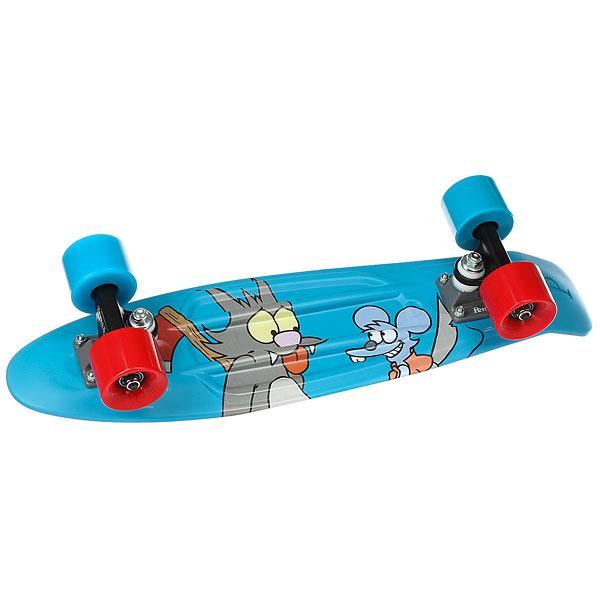 Скейт мини круизер Penny Simpsons 22 Ltd Itchy & Scratchy 6 x 22 (55.9 см)