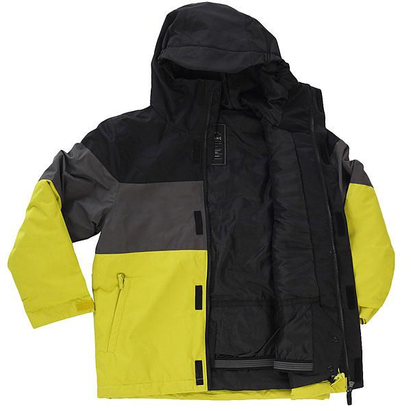 Куртка утепленная детская Billabong Tribong Yellow