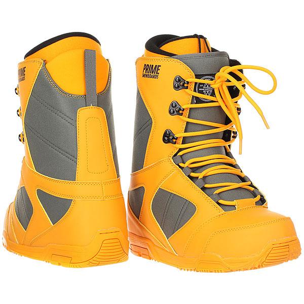 Ботинки для сноуборда Prime Classic Yellow