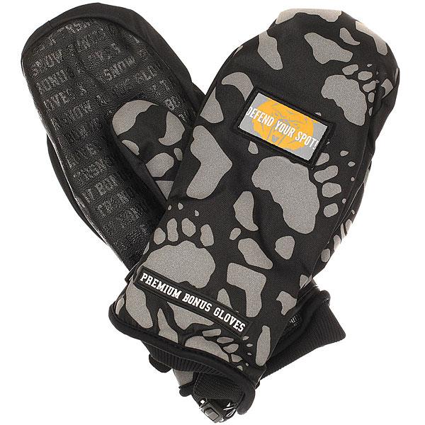 Варежки сноубордические Bonus Gloves X Terror Snow Black