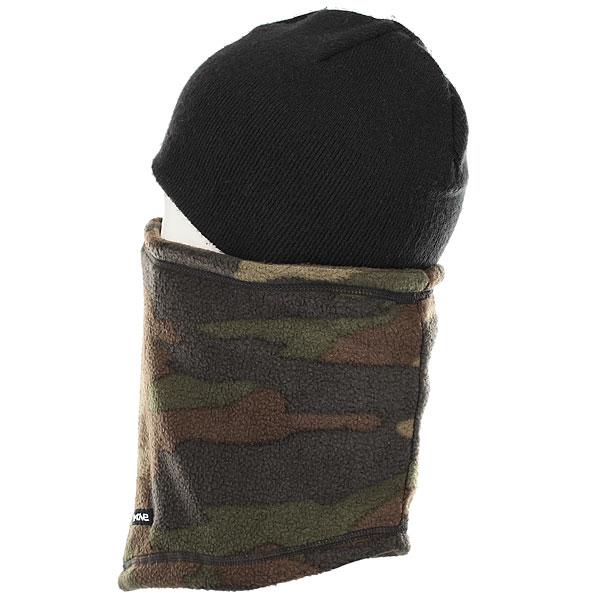 Шапка носок Dakine Fleece Neck Tube Camo