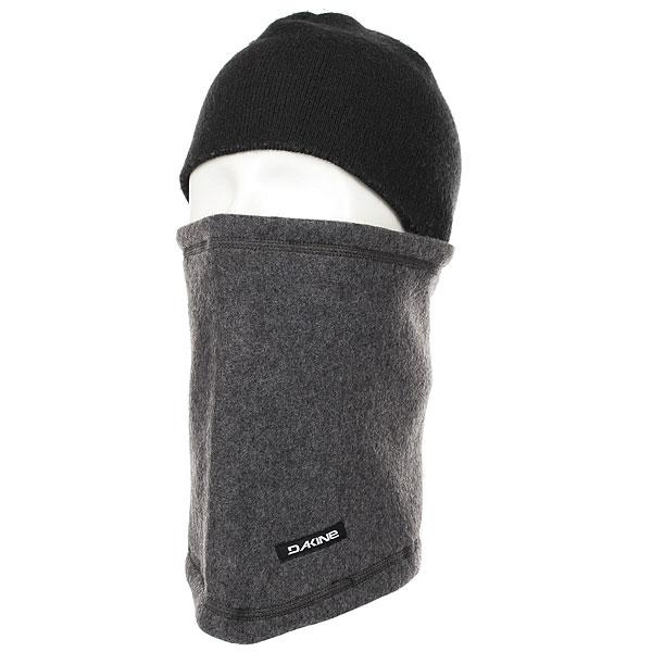 Шапка носок Dakine Fleece Neck Tube Charcoal