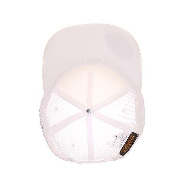 Бейсболка с сеткой Flexfit 6005ff White