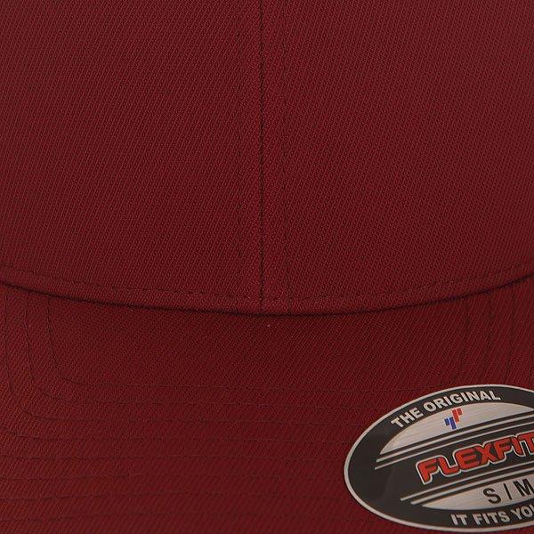 Бейсболка классическая Flexfit 6533 Maroon