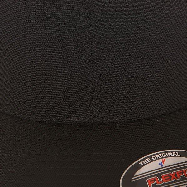 Бейсболка классическая Flexfit 6533 Black