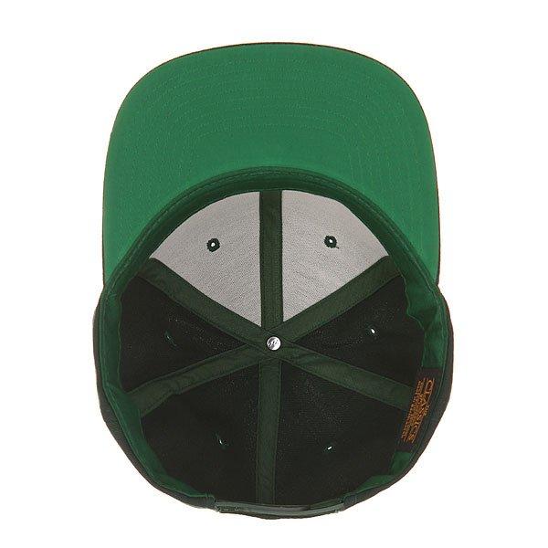 Бейсболка с прямым козырьком Flexfit 6089m Spruce