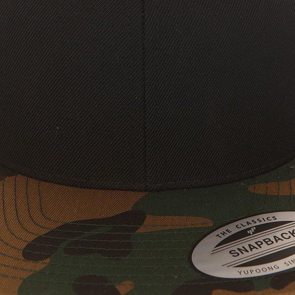 Бейсболка с прямым козырьком Flexfit 6089m Camo