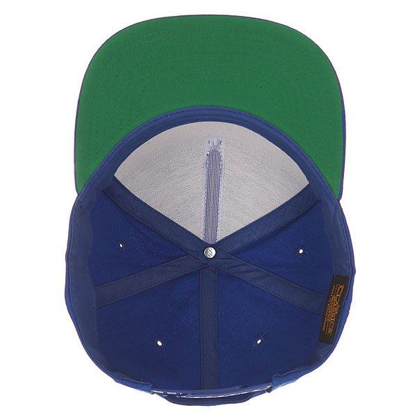 Бейсболка с прямым козырьком Flexfit 6007 Royal